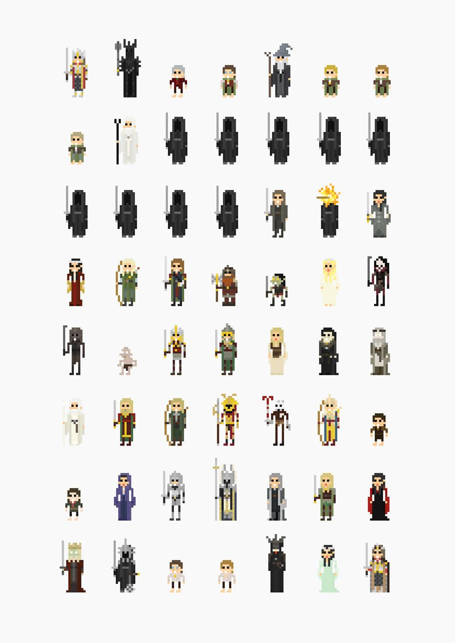 16 Bit Character Template