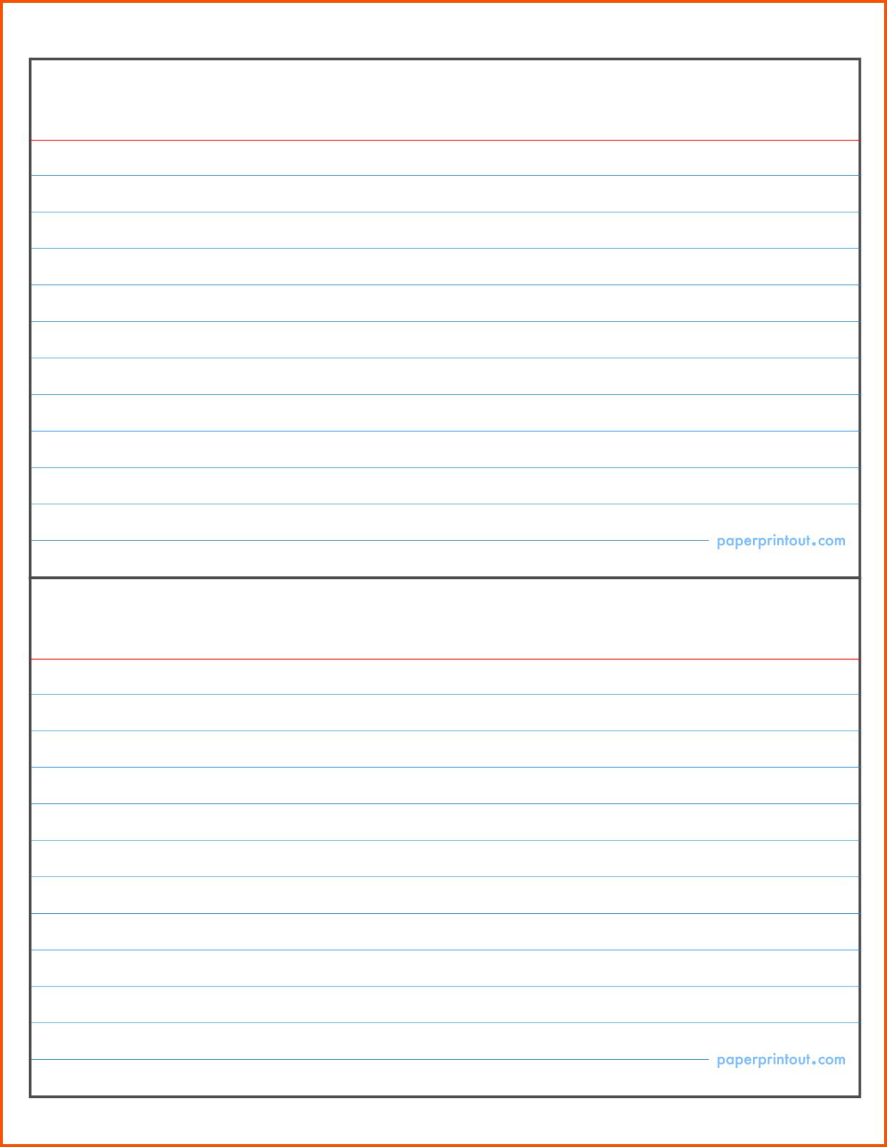 003 Template Ideas Word Indexs Impressive Index Card