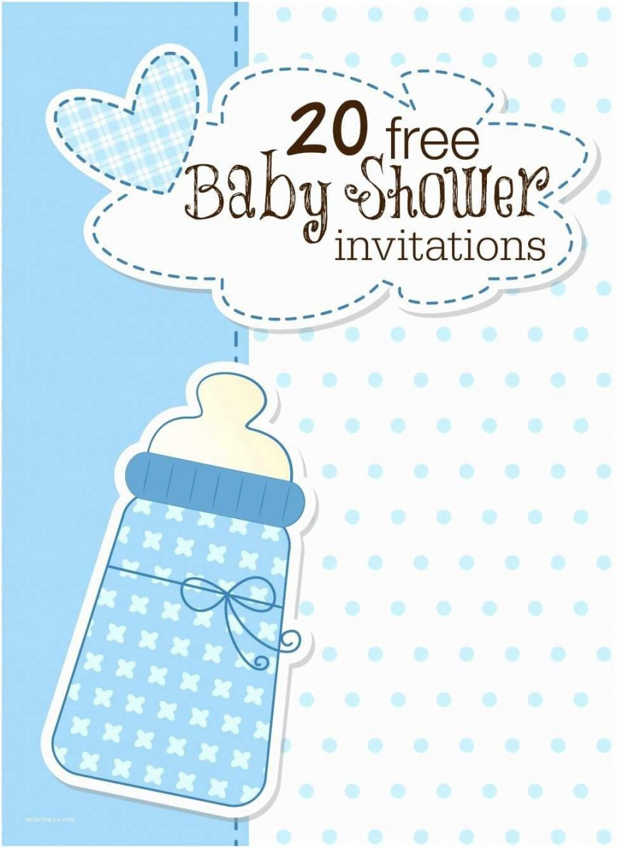 Baby Shower Template Word
