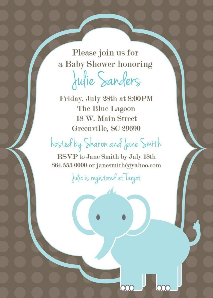 Baby Shower Invite Template Word Addictionary