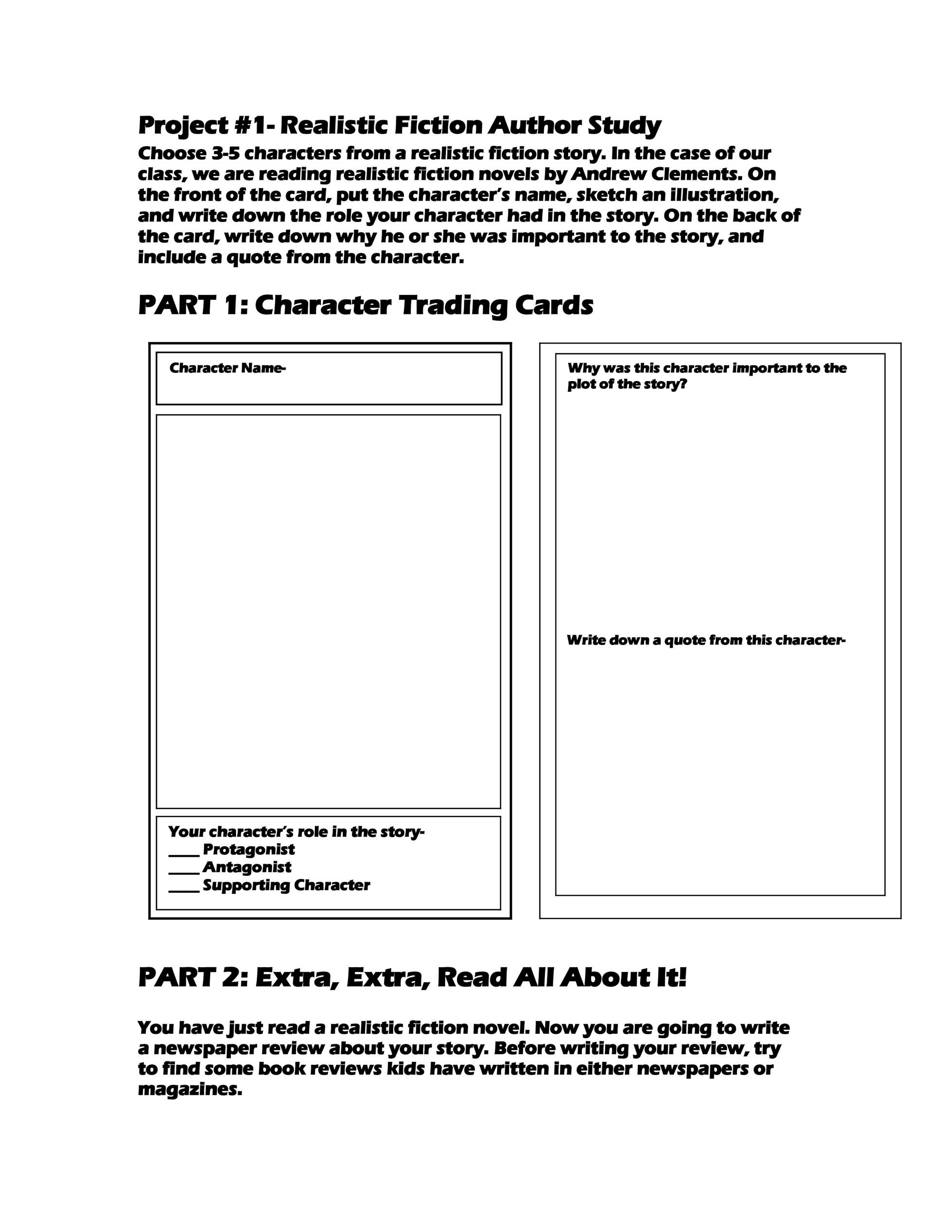 Baseball Trading Card Template