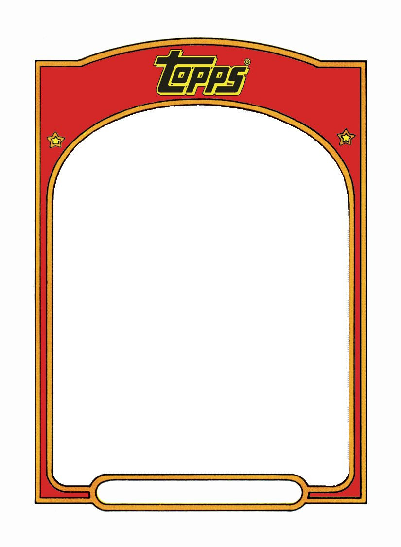 Baseball Trading Cards Template