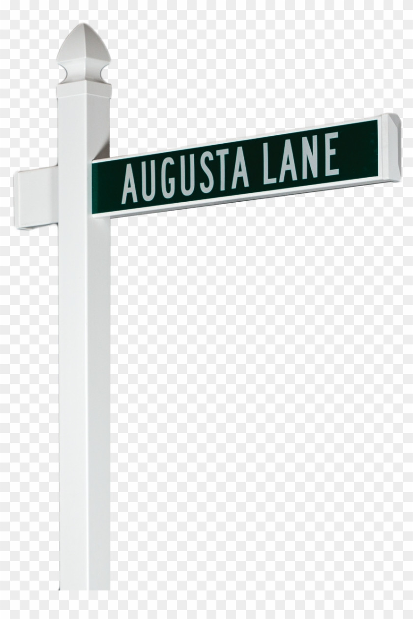 Blank Street Sign Template