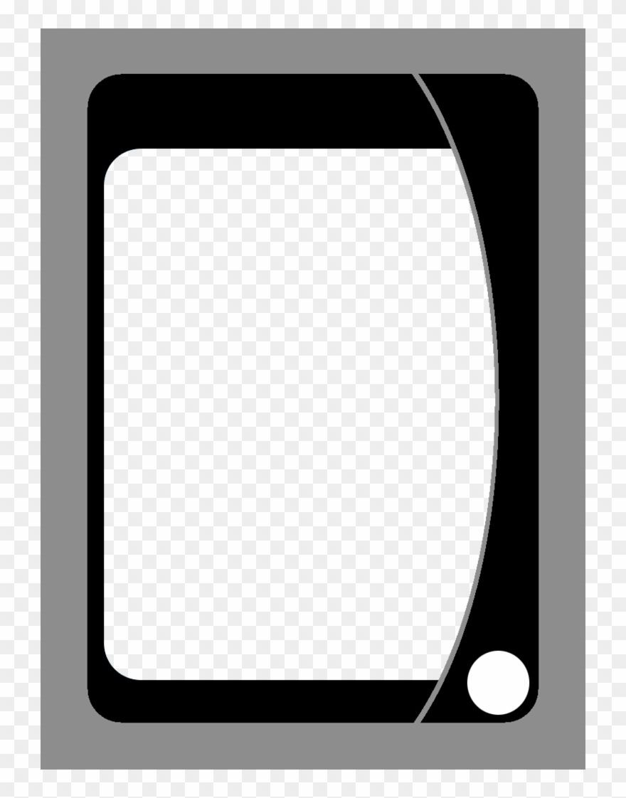 Playing Card Template Uno Card Blanks Clipart