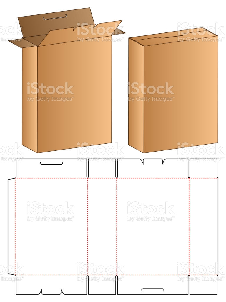 Box Die Cut Template