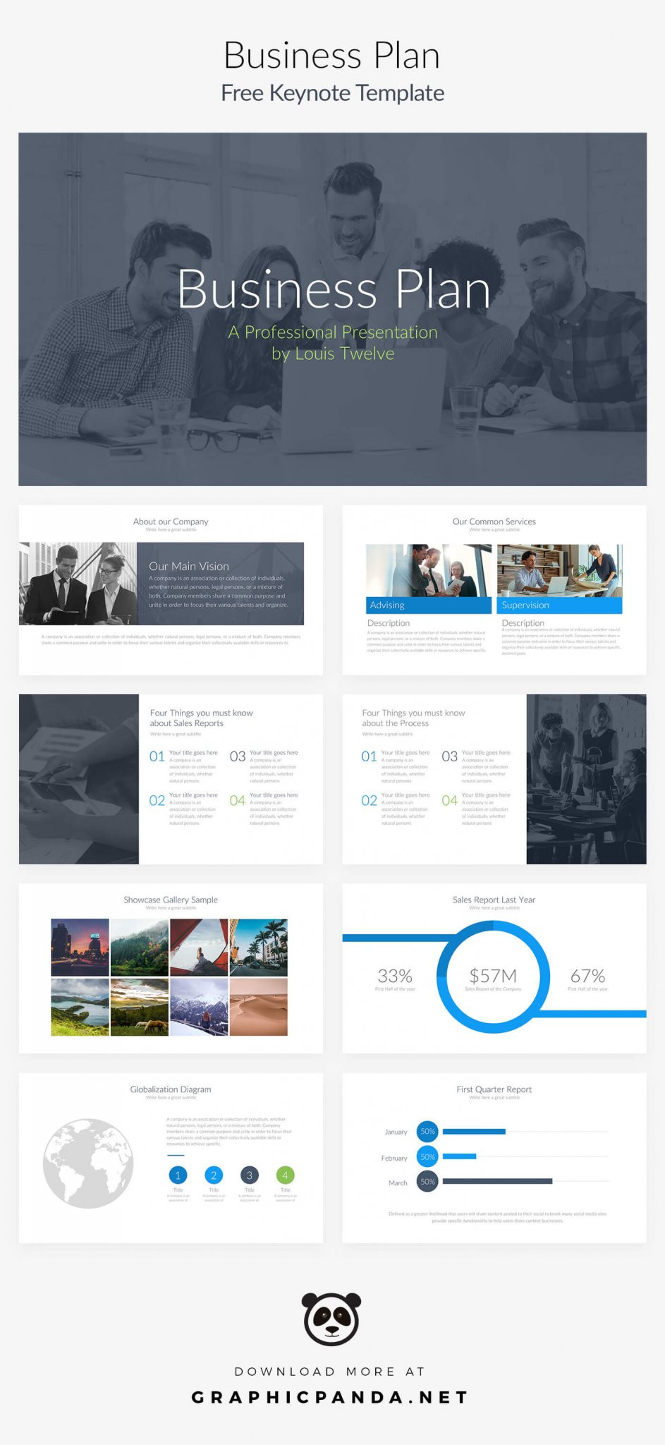Business Case Template Powerpoint