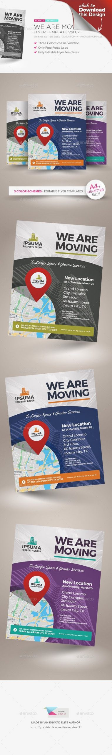 Business Moving Announcement Template