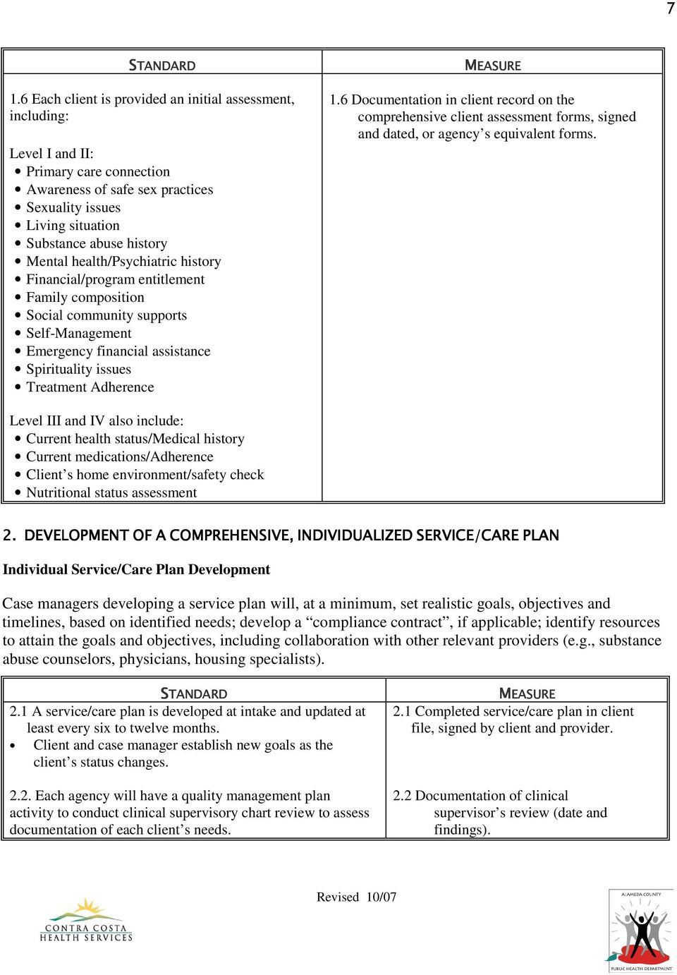 Case Management assessment Template