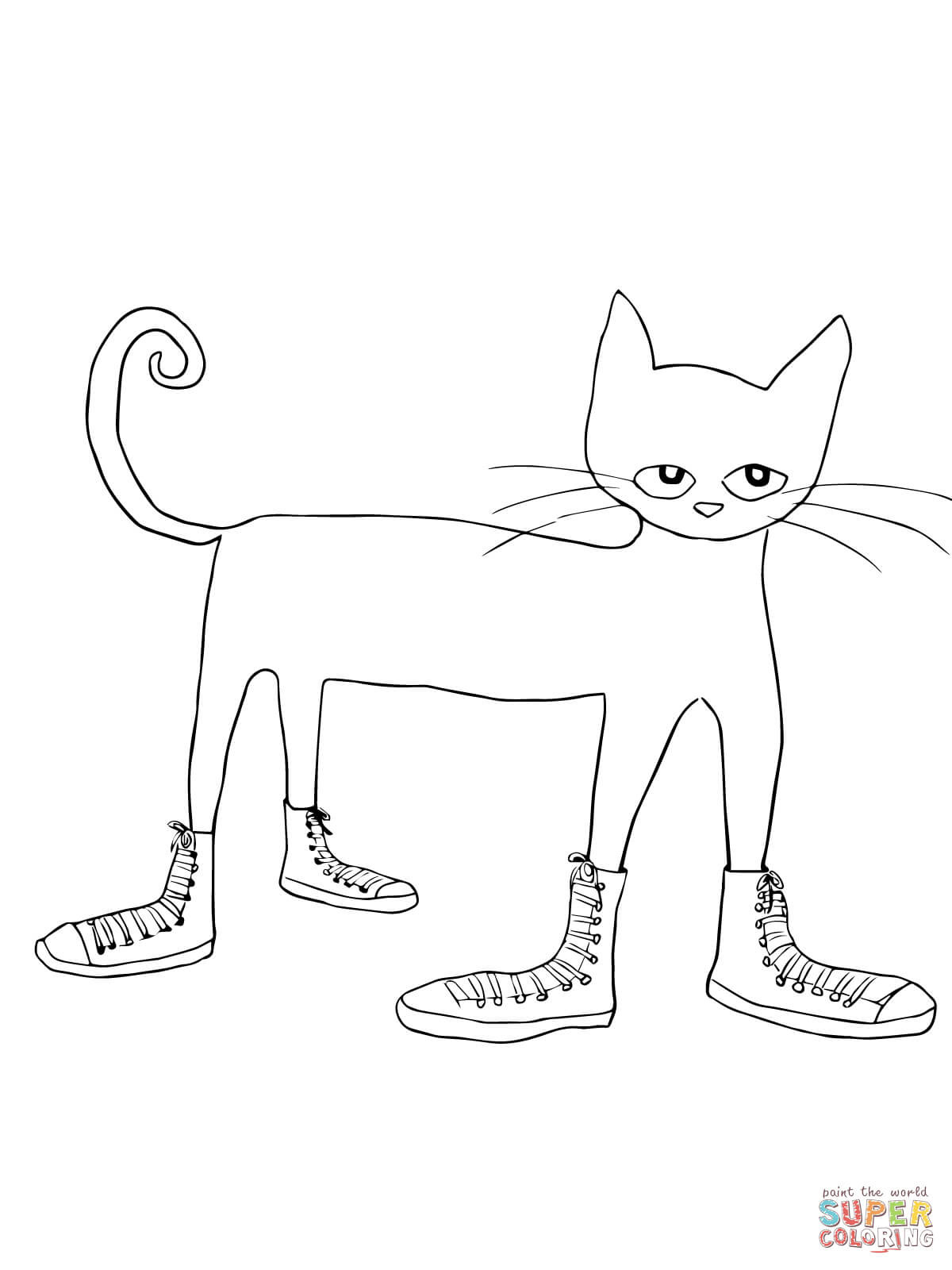 Cat Cut Out Template