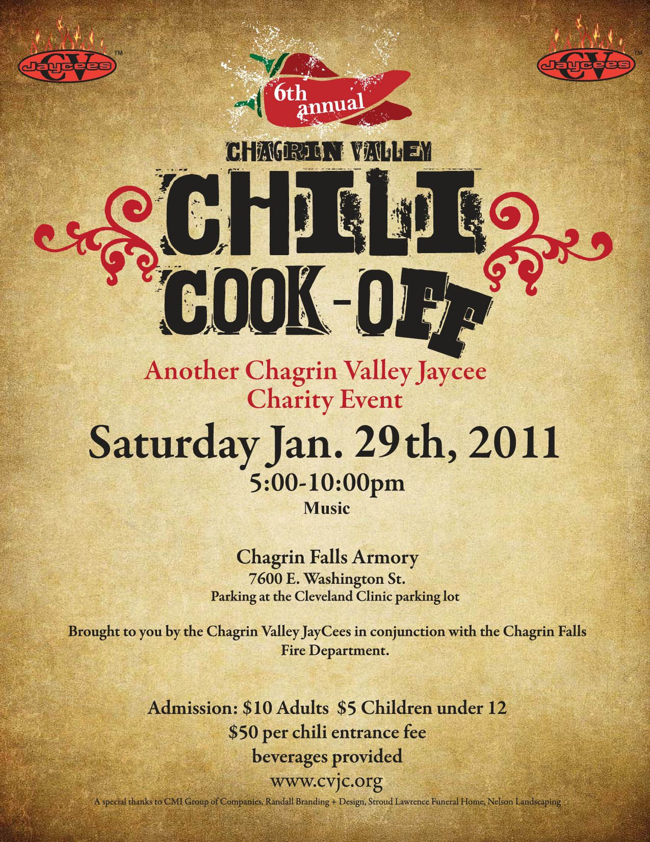 Chili Cook f Flyer Template Free Printable WOW