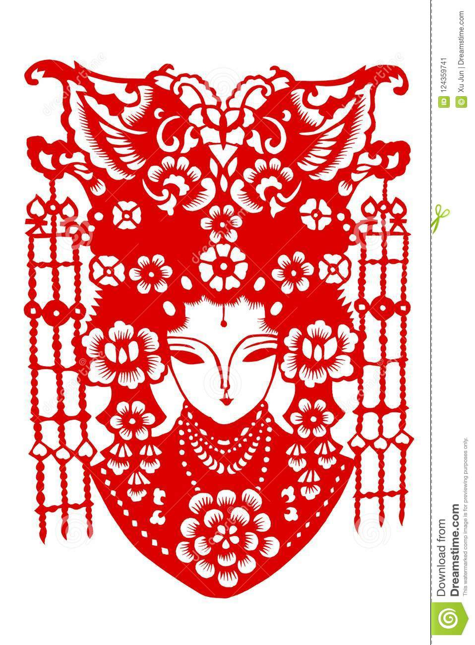 Chinese Paper Cut Template