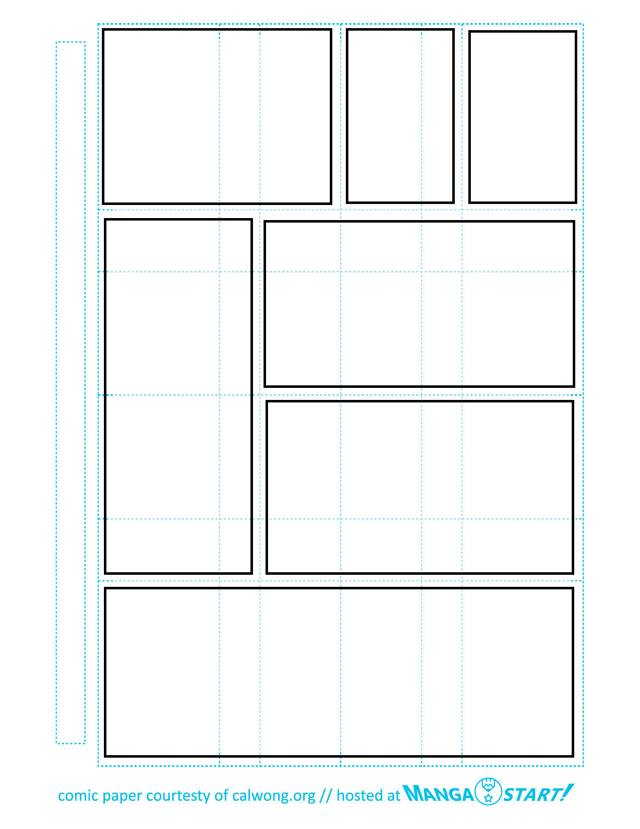 Comic Book Page Template