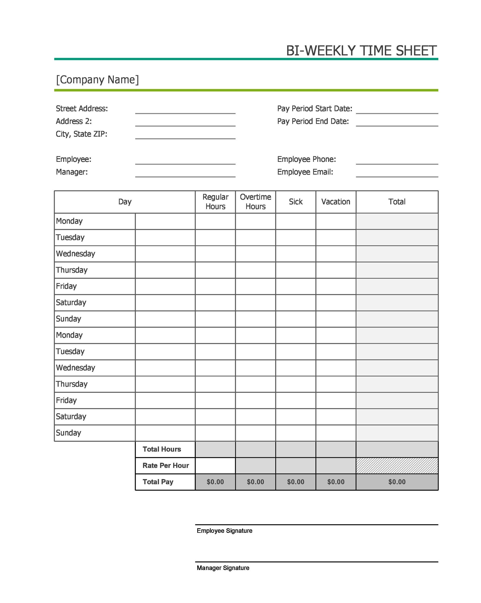 Template munity Service Timesheet Template munity