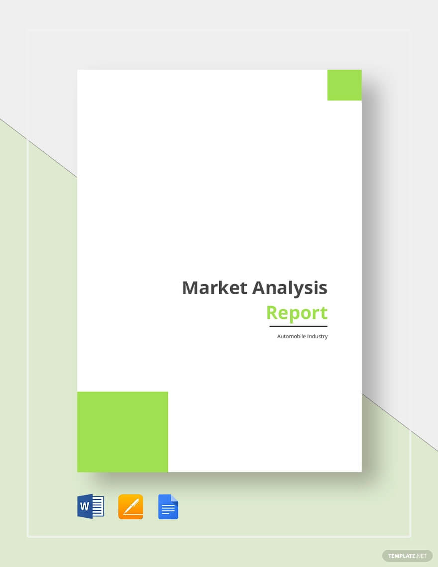 Comparative Market Analysis Template