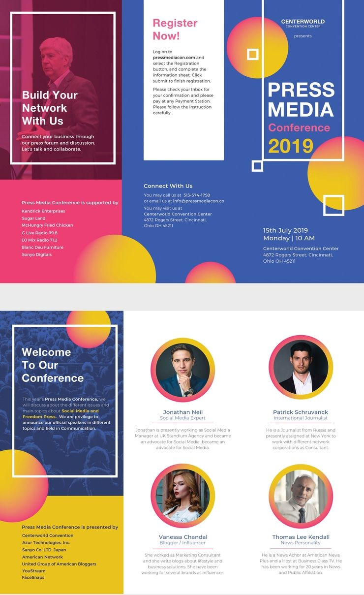Free Conference Brochure