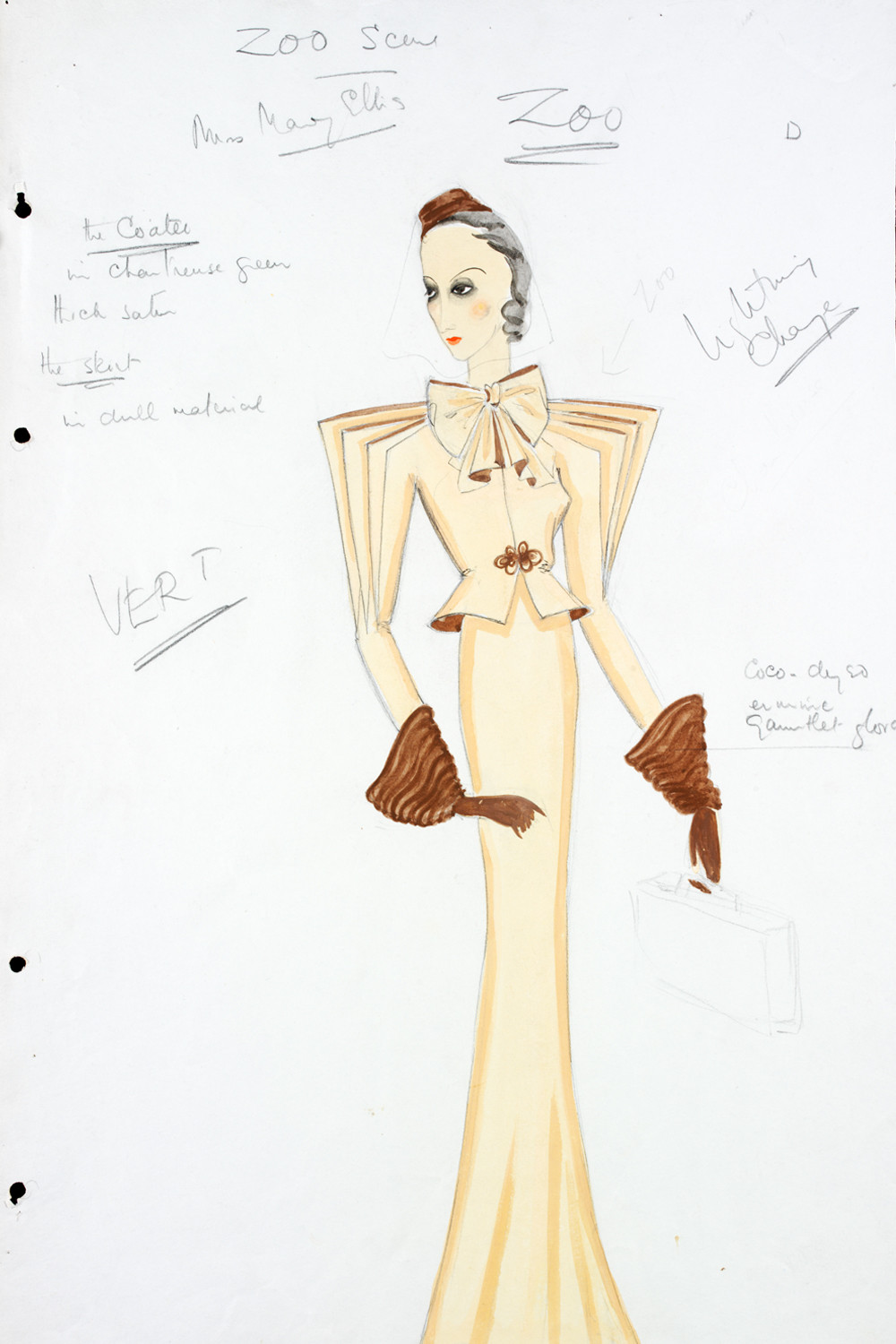 Costume Design Template Male