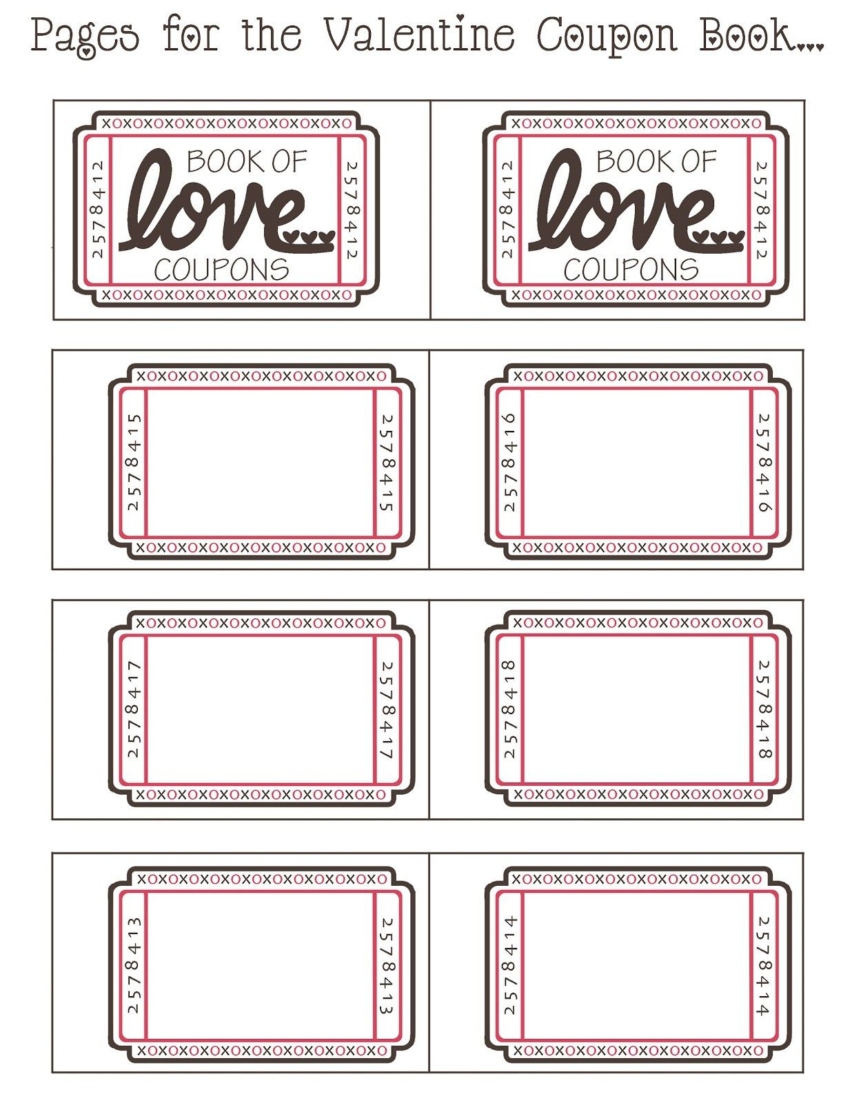 Get Creative With These Heartfelt Free Printable Love