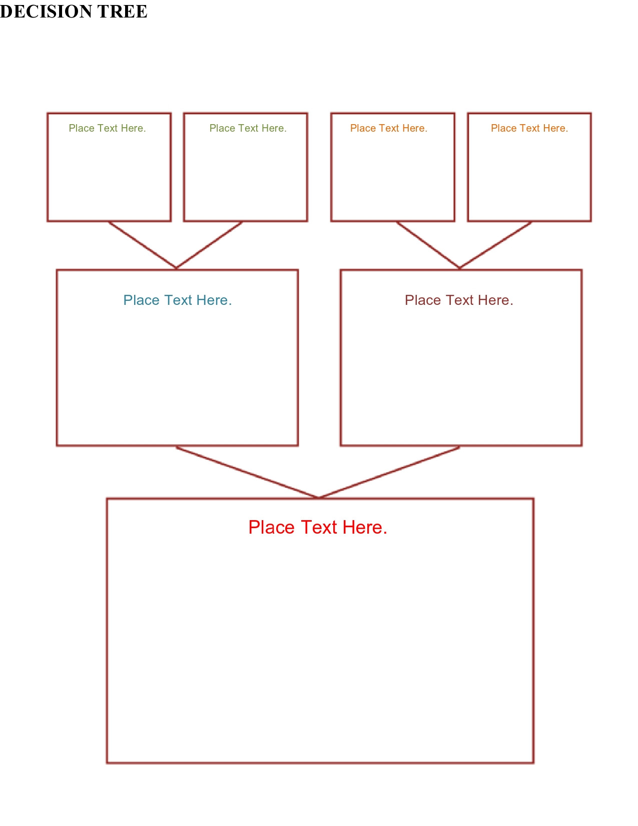 30 Free Decision Tree Templates Word & Excel TemplateArchive