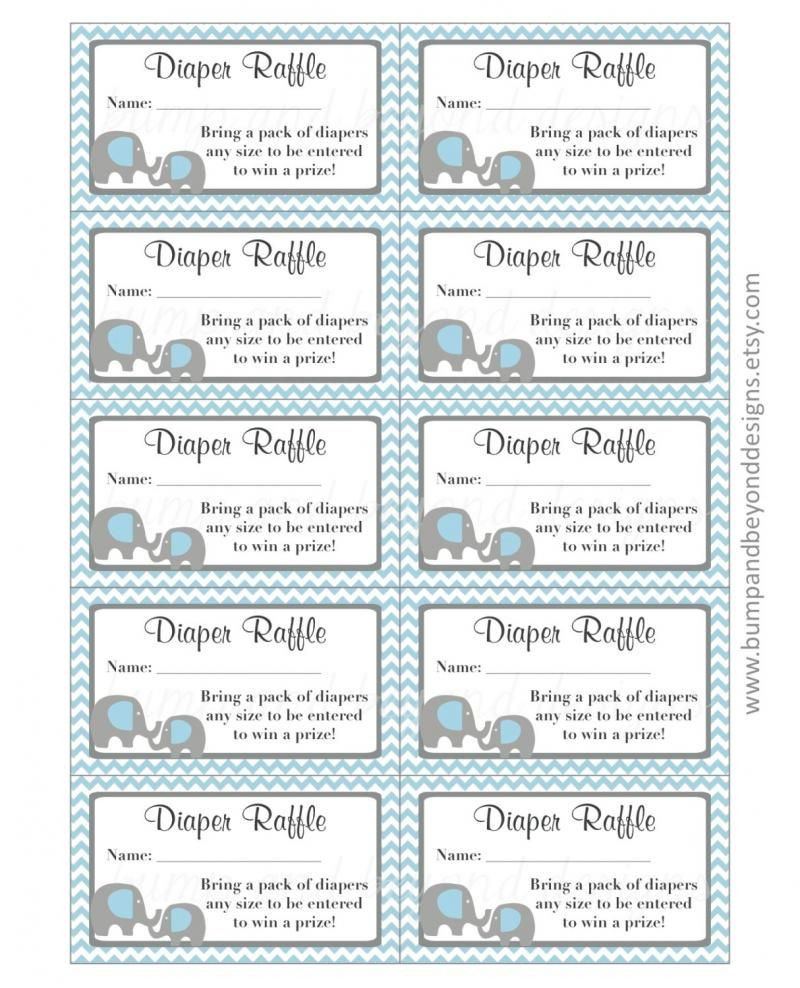 diaper raffle tickets free printable Yahoo Image Search
