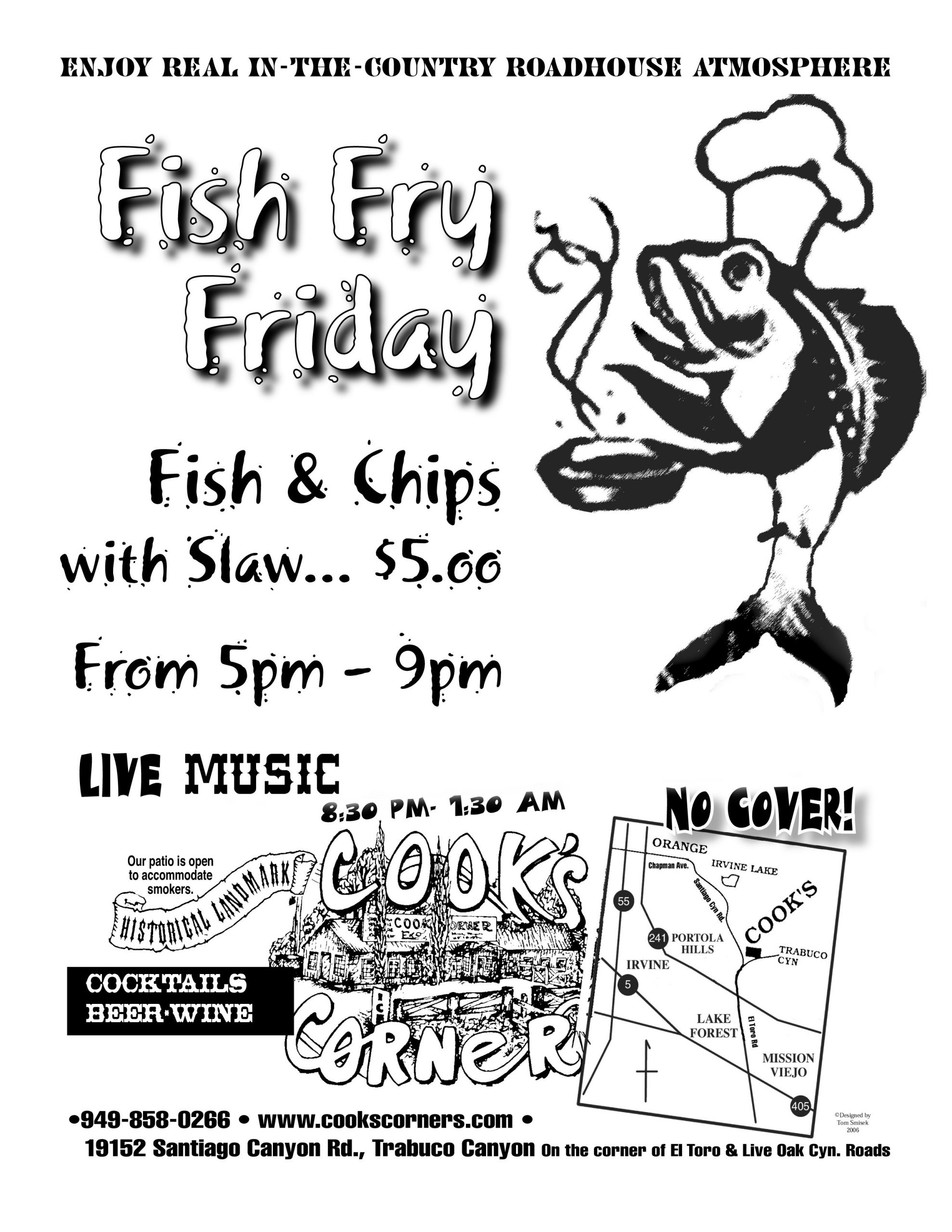 Fish Fry Flyer Template