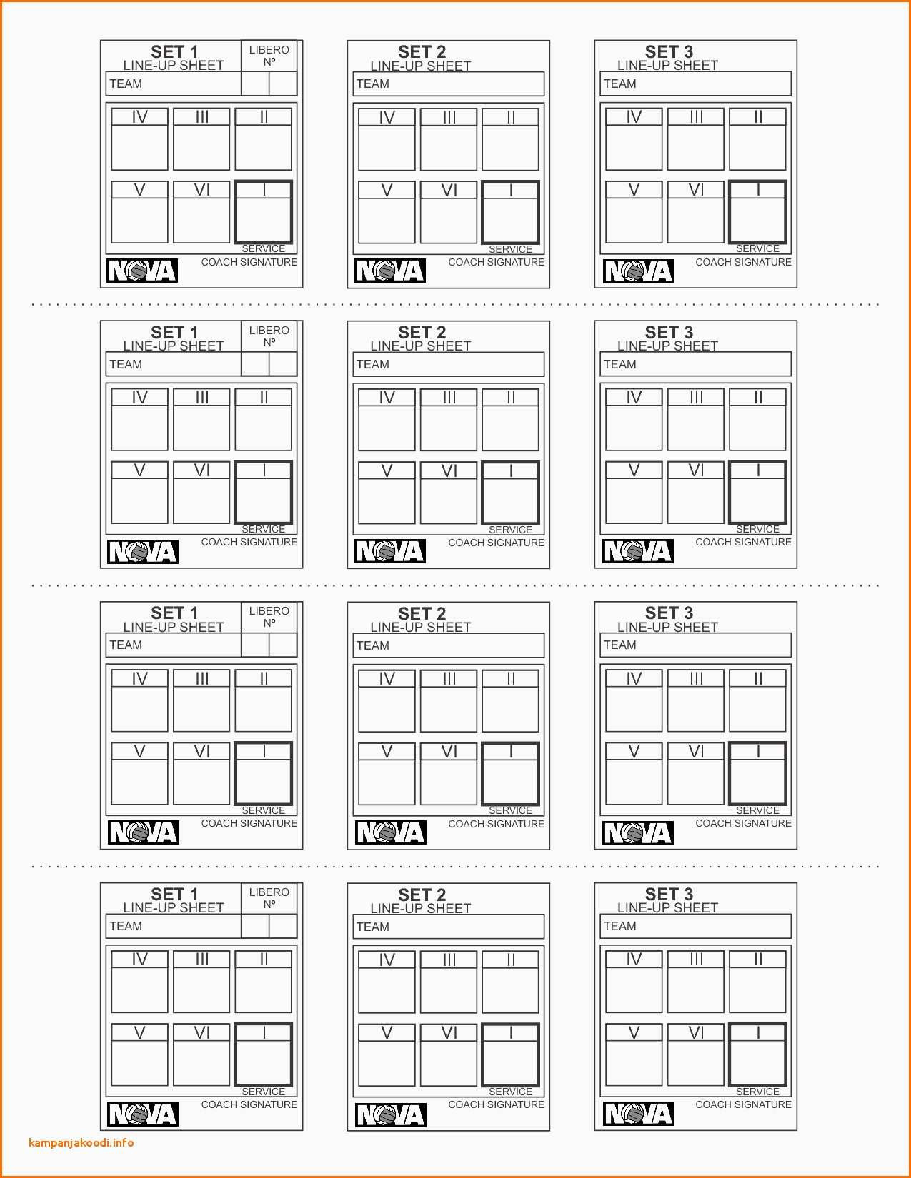 Football Squares Template Download