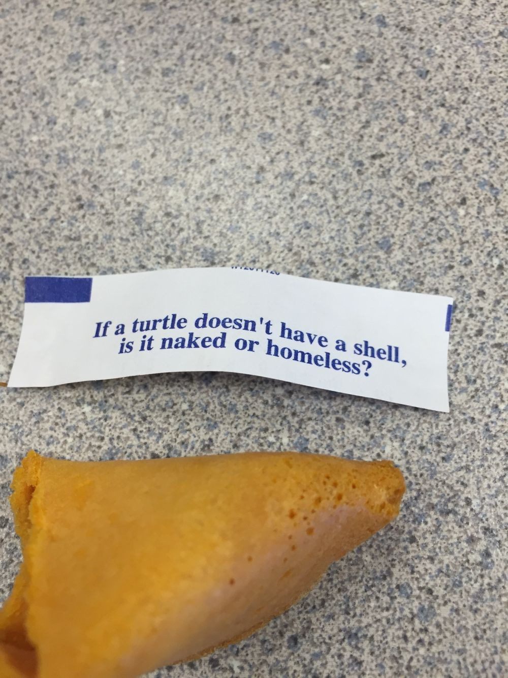 Fortune Cookie Message Template