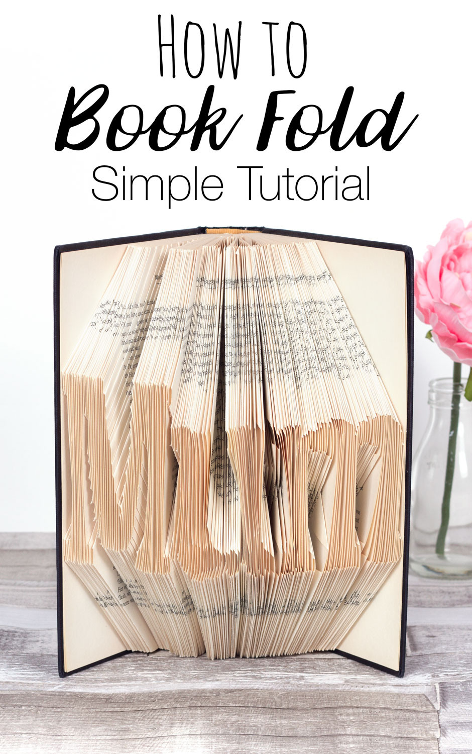 Free Book Folding Template