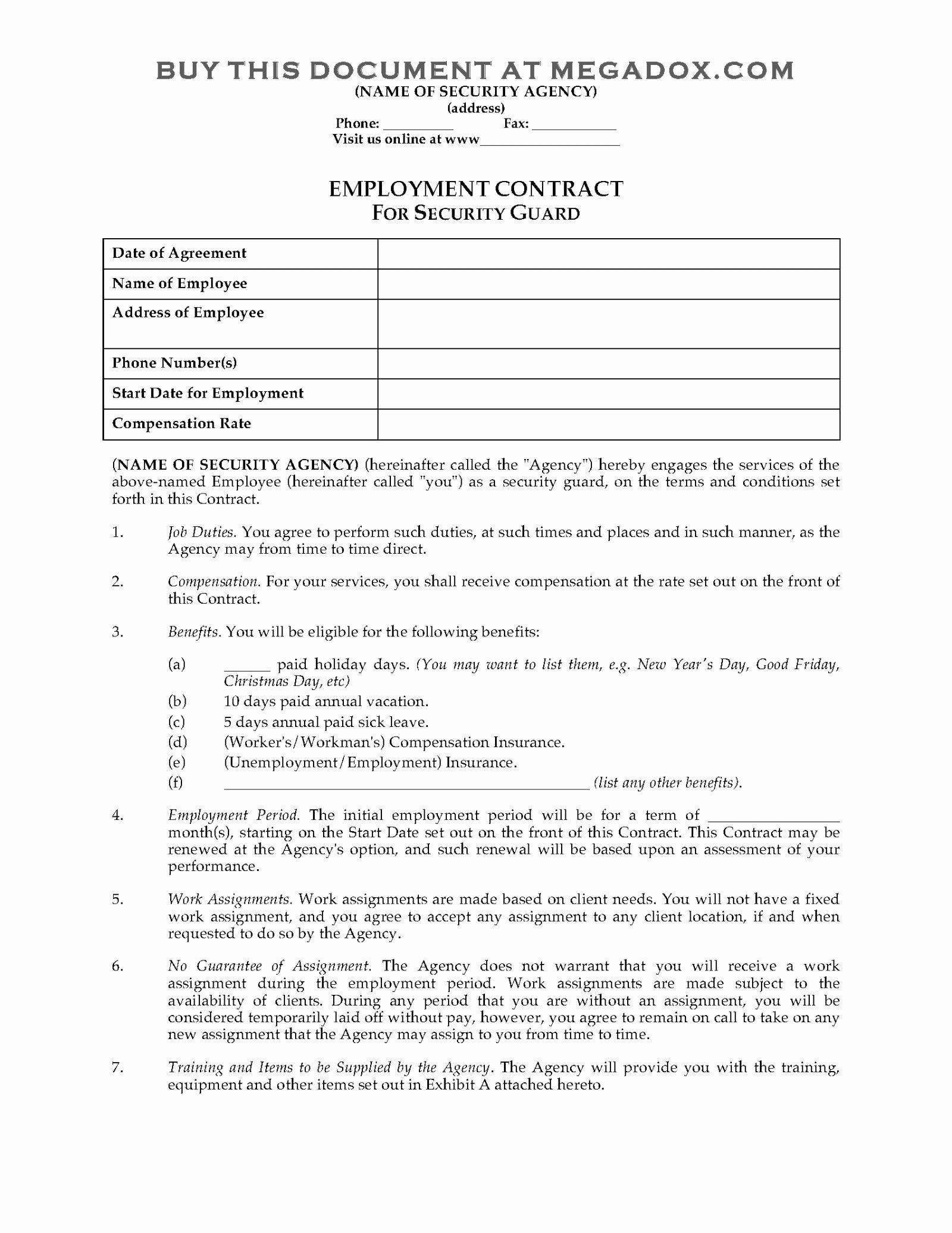 Free Caregiver Contract Template Fresh Family Graphy