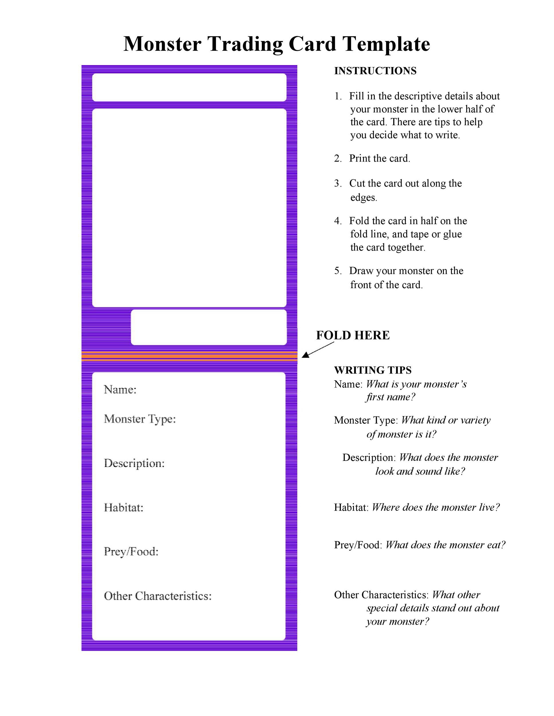 Free Index Card Template