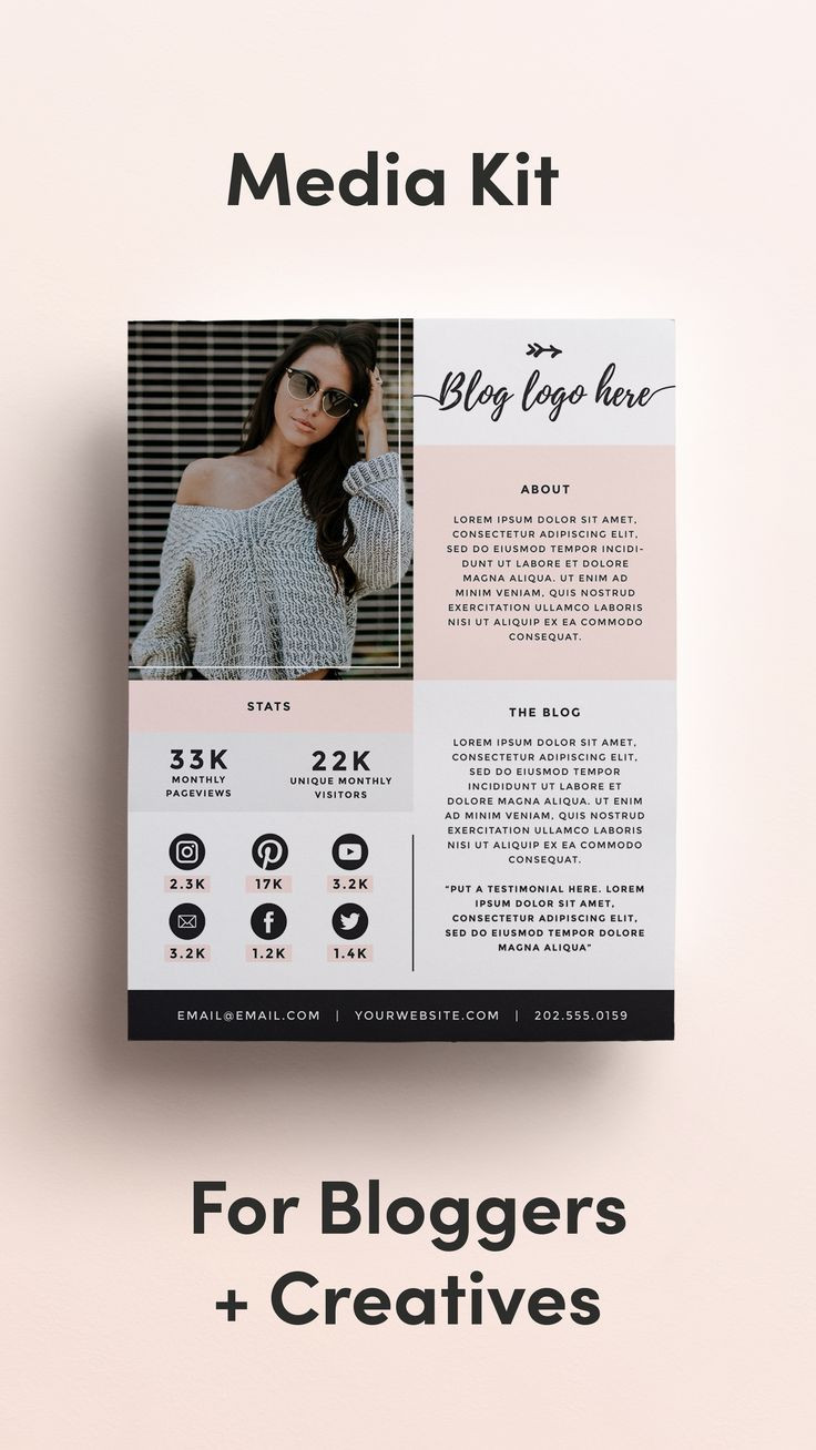 Free Press Kit Template
