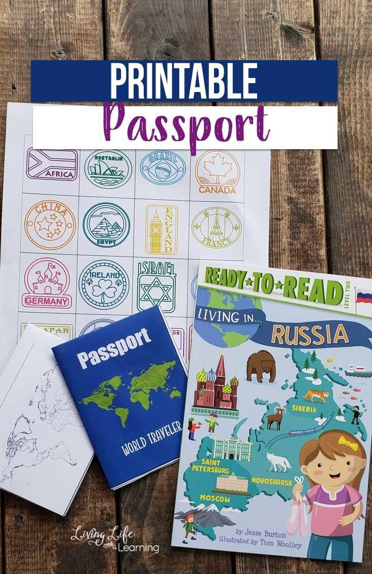 Free Printable Passport Template