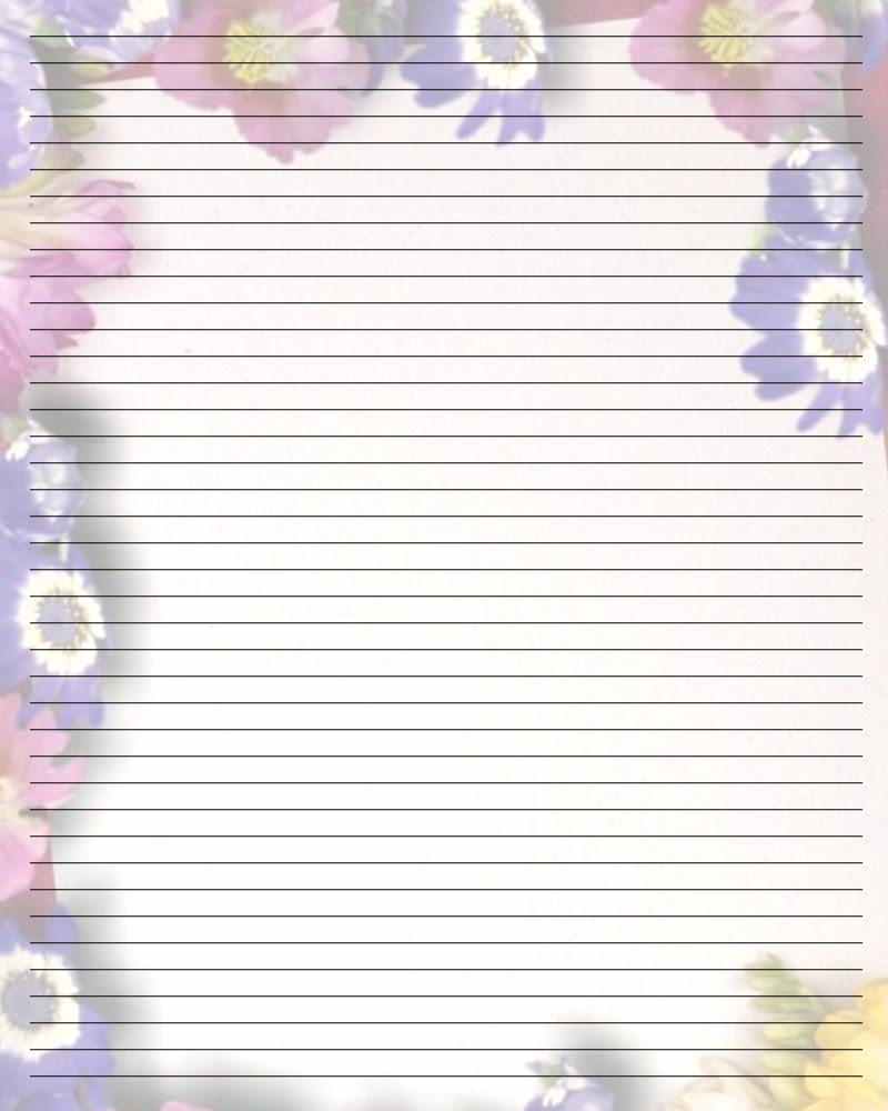 Free Printable Stationery Template