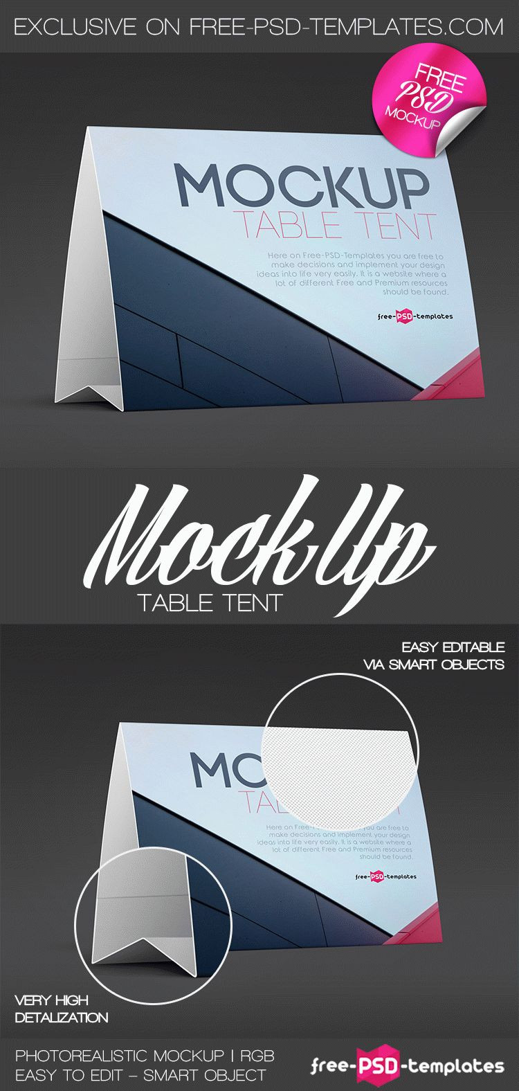 Free Tent Card Template