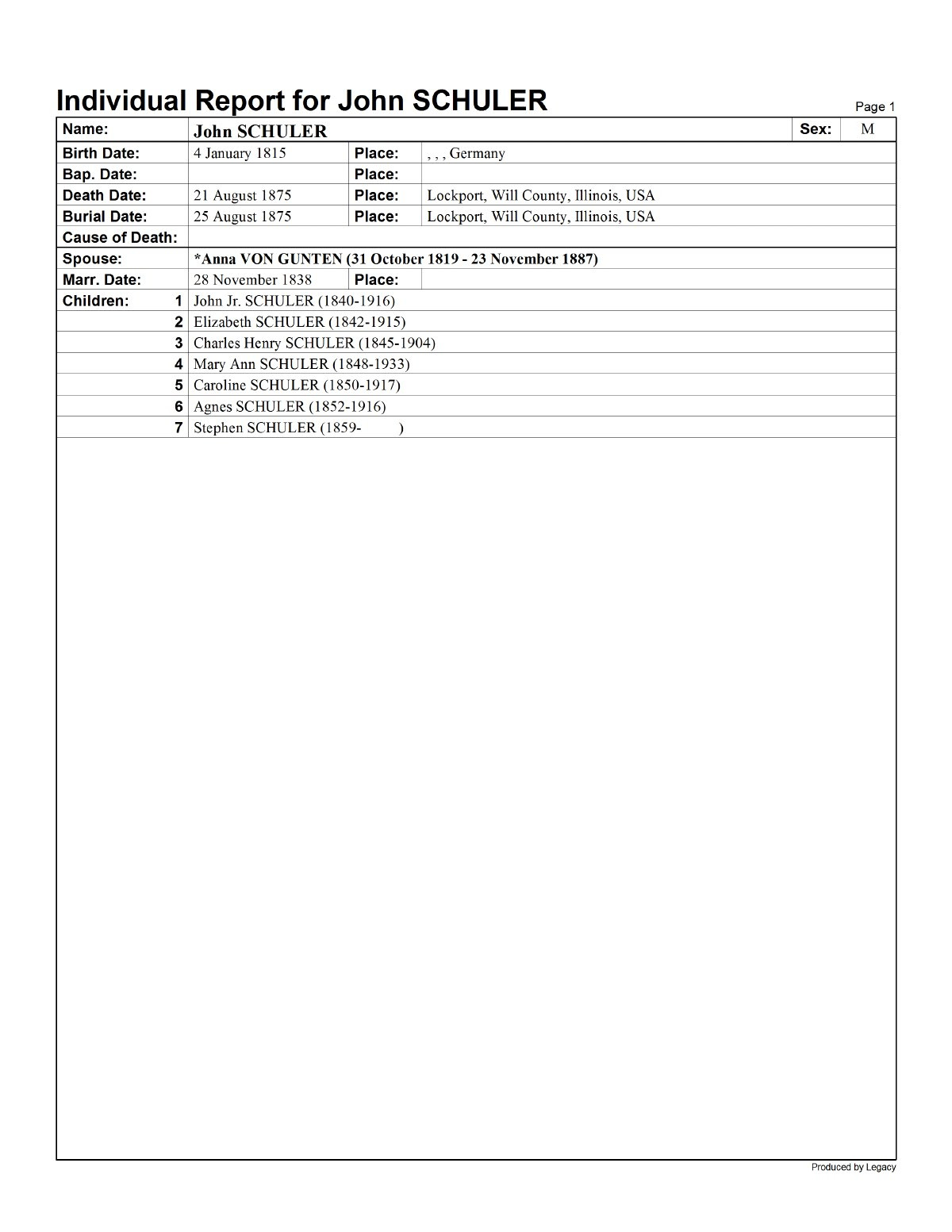 Genealogy Research Log Template