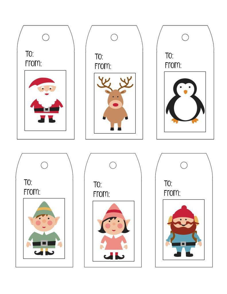 Printable Gift Tag Templates
