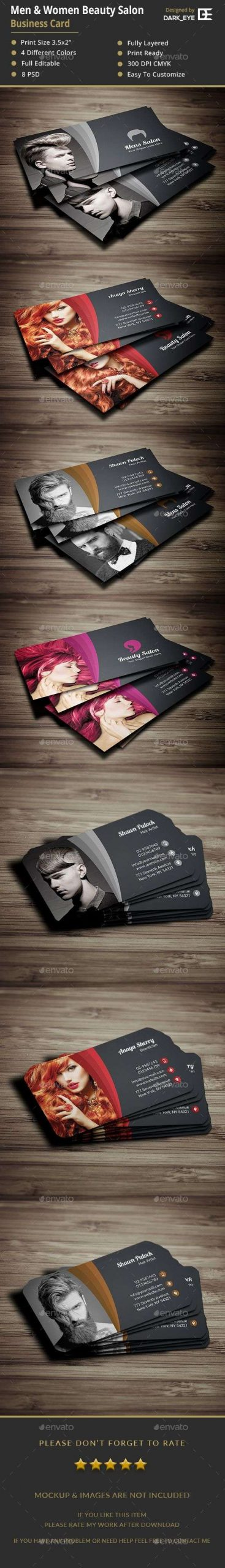 Gimp Business Card Template