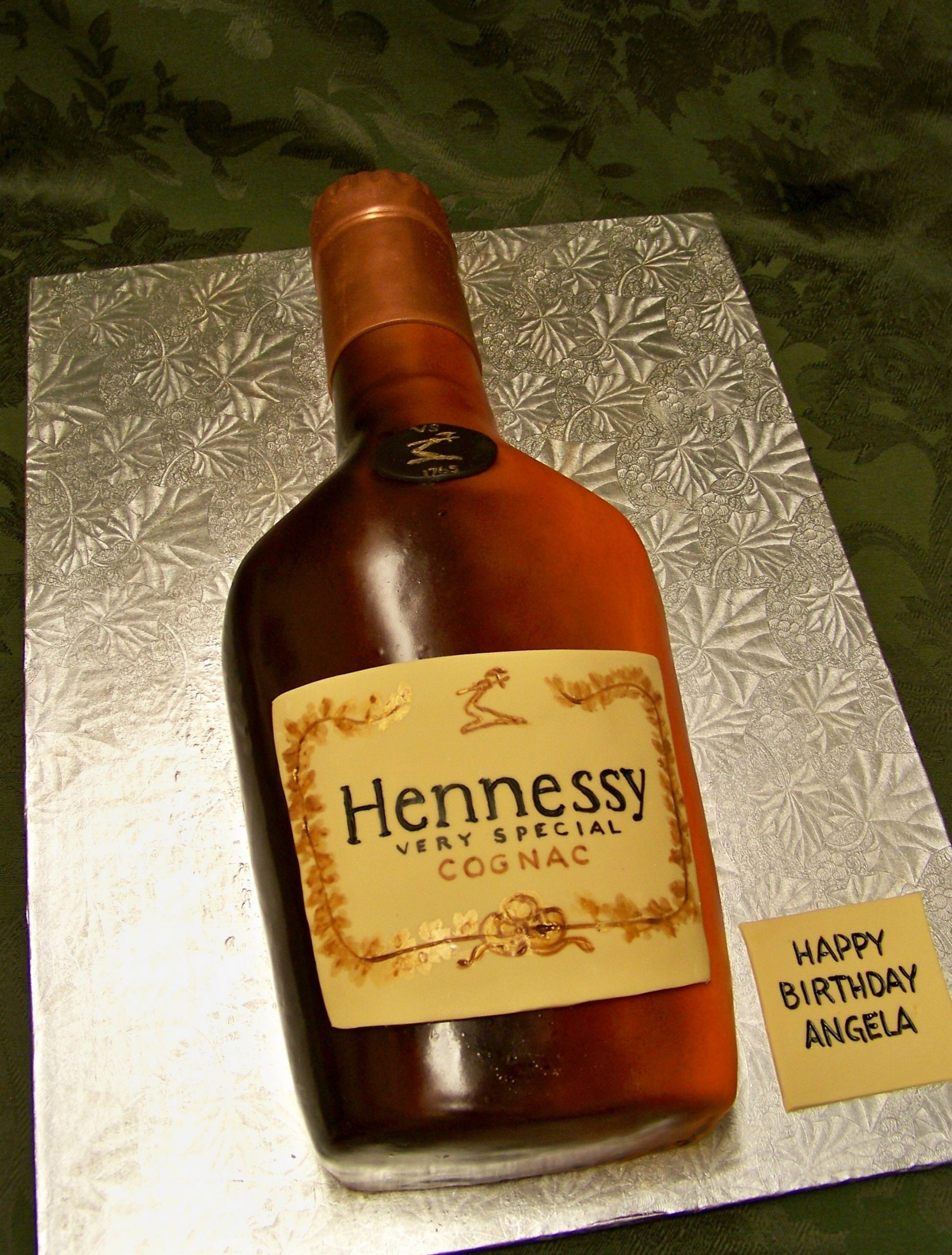 Hennessy Bottle Label Template