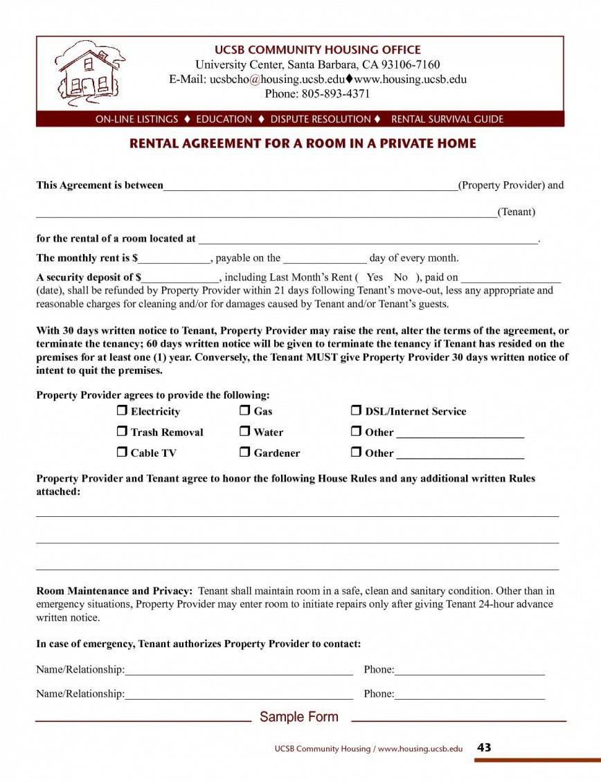 House Cleaning Contract Template