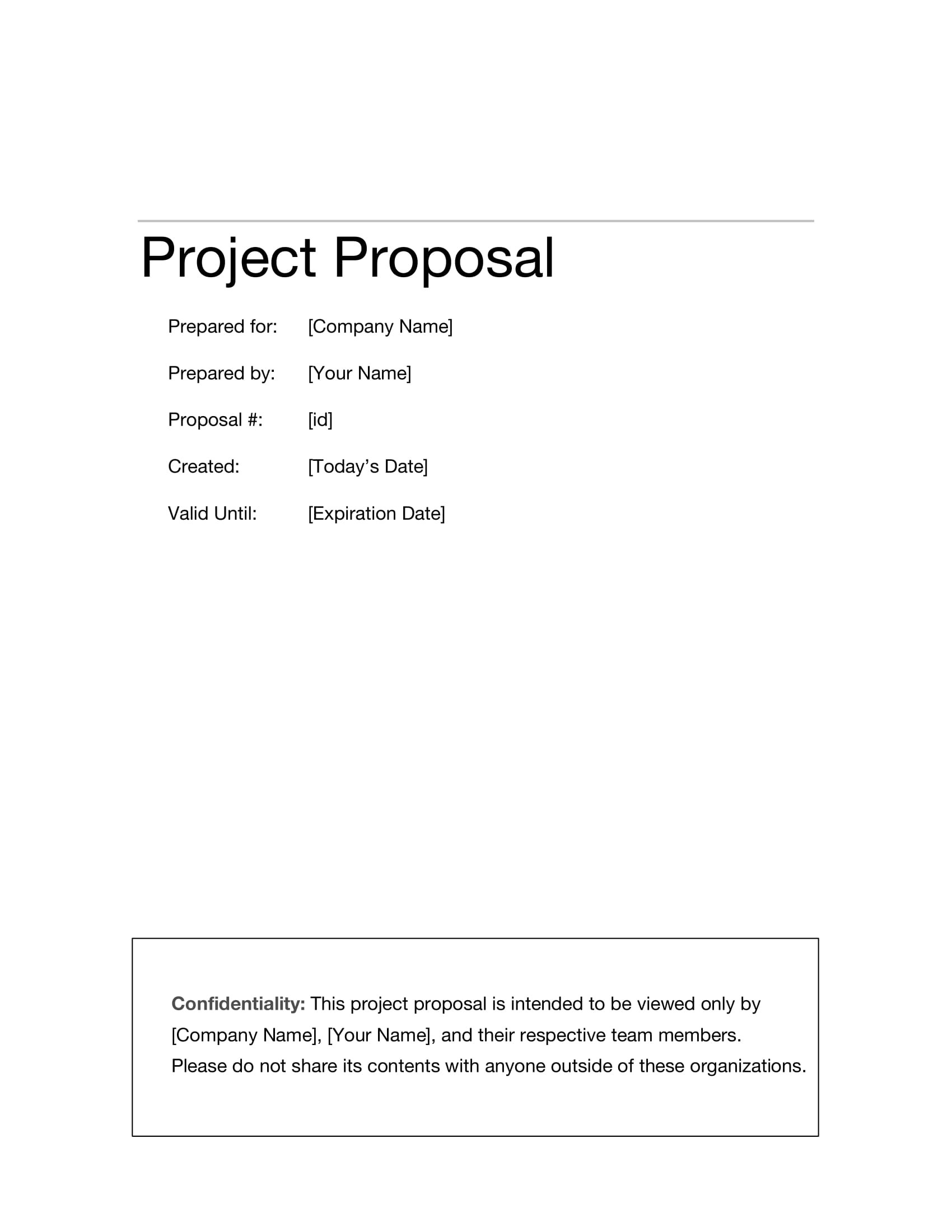 Lawn Care Proposal Template