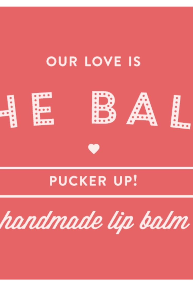 Lip Balm Label Template