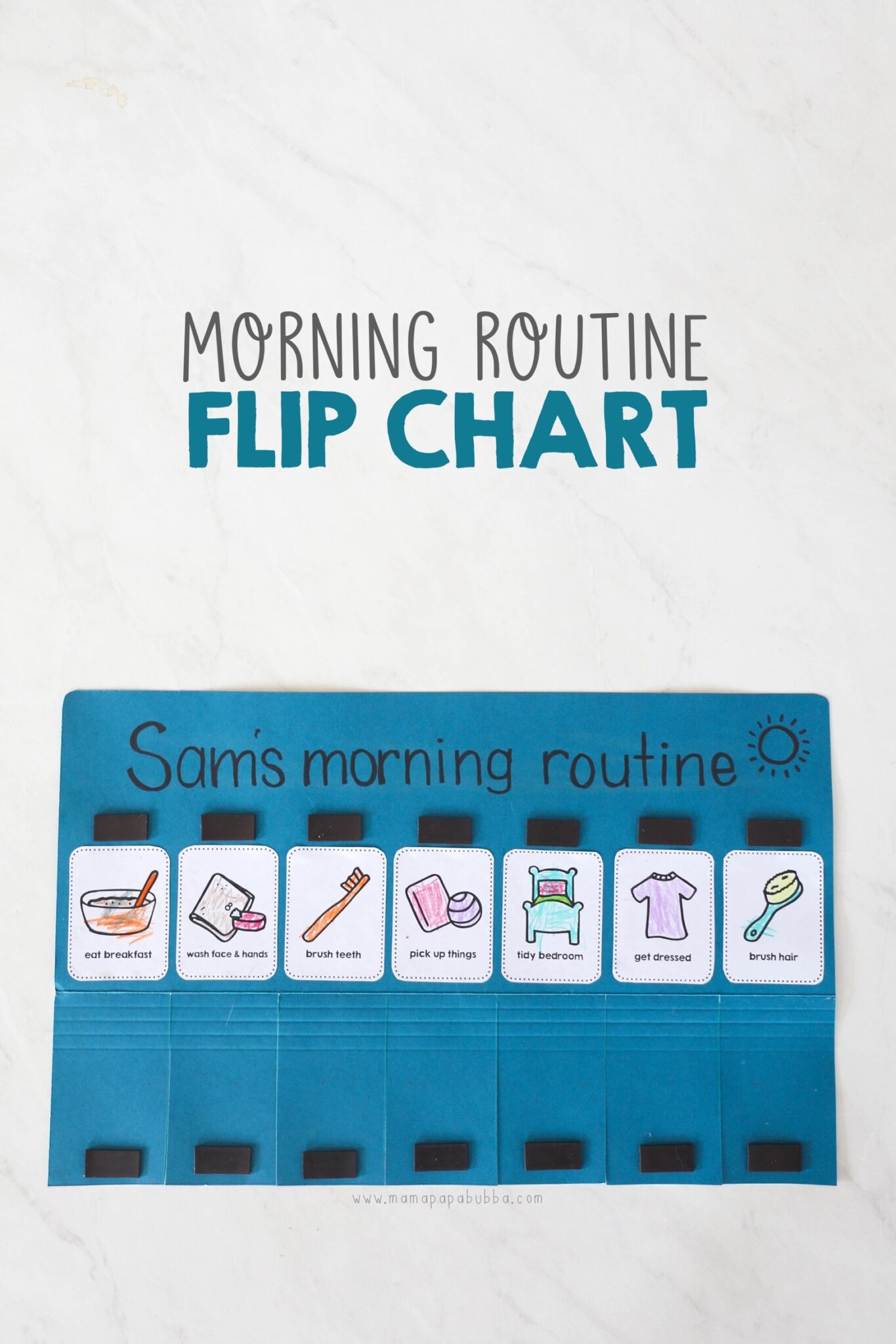 Morning Routine Checklist Template