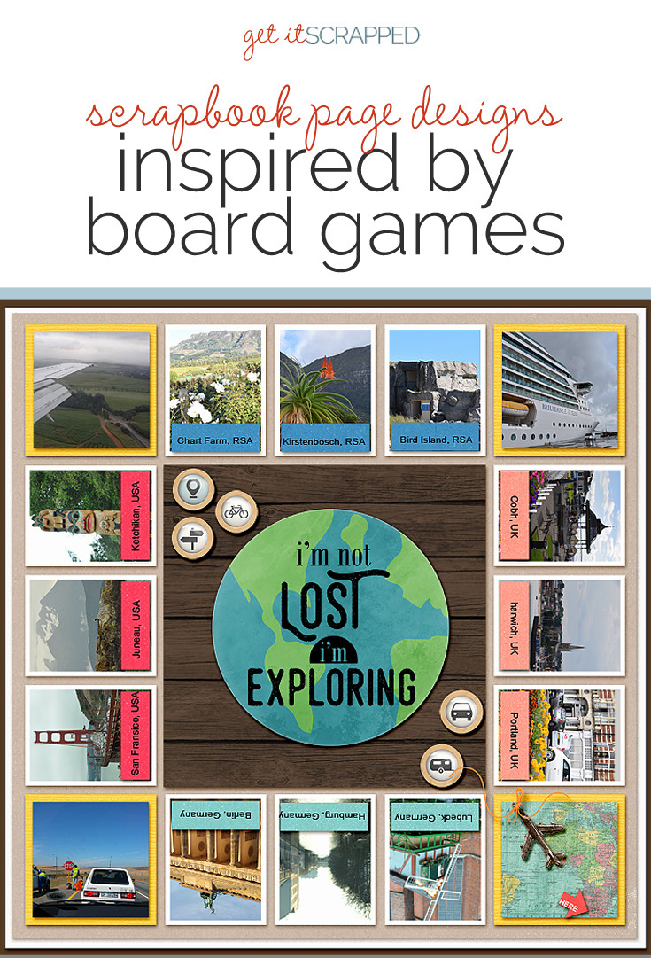Operation Game Board Template
