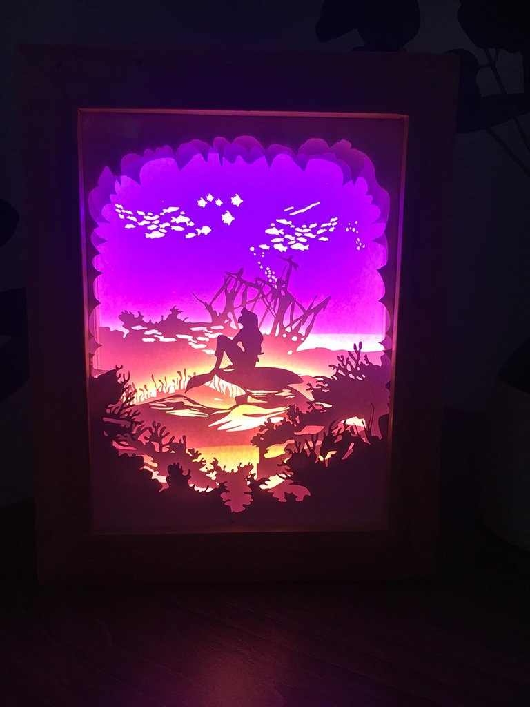 Paper Shadow Box Template