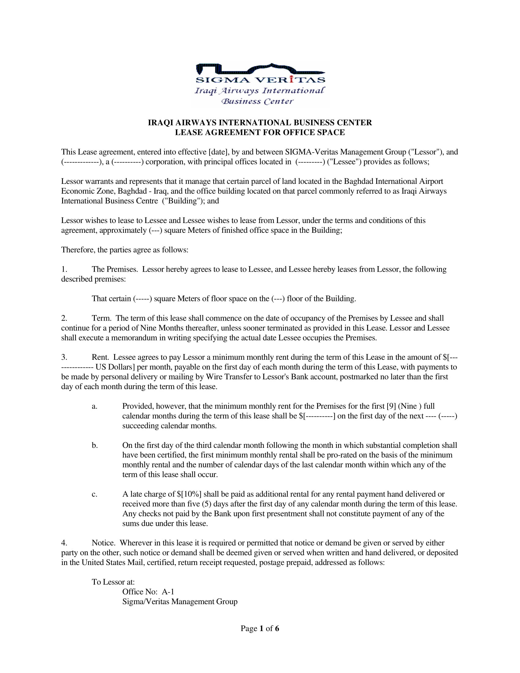 Party Rental Contract Template