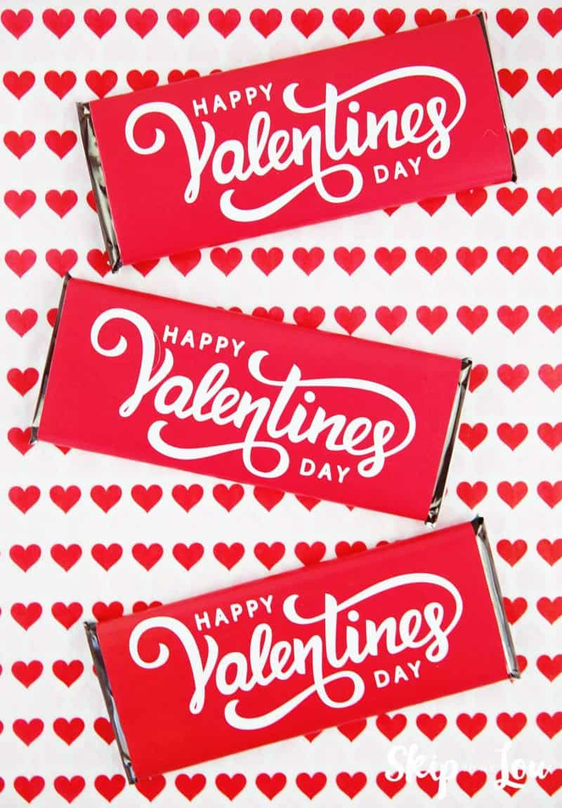 Personalized Candy Wrapper Template