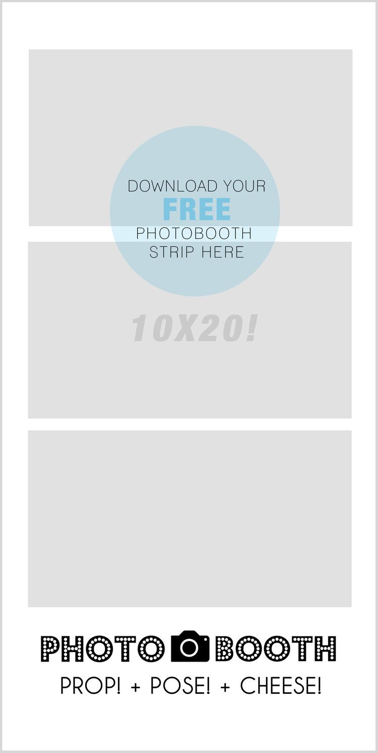Photo Booth Sign Template