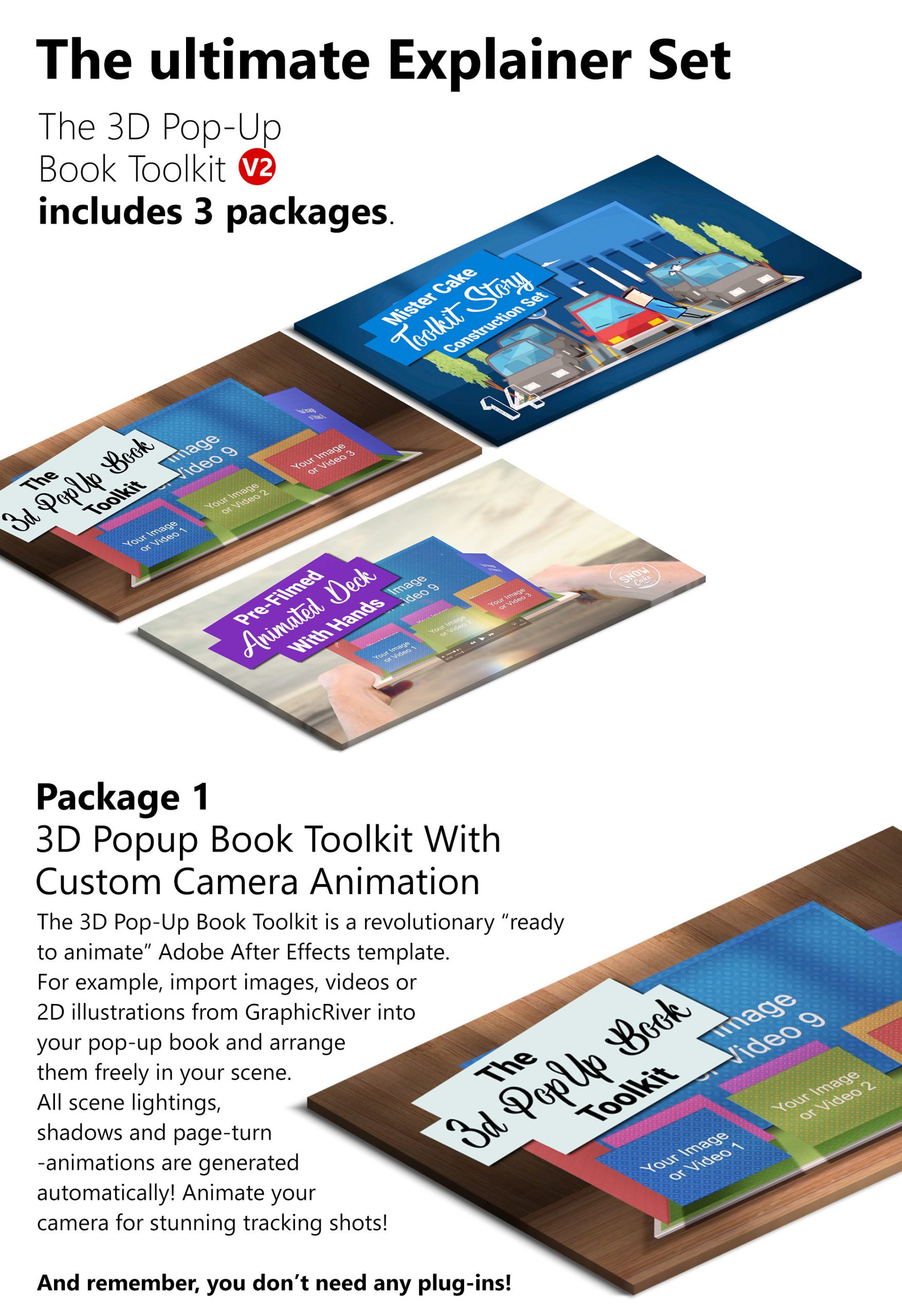 Pop Up Book Template