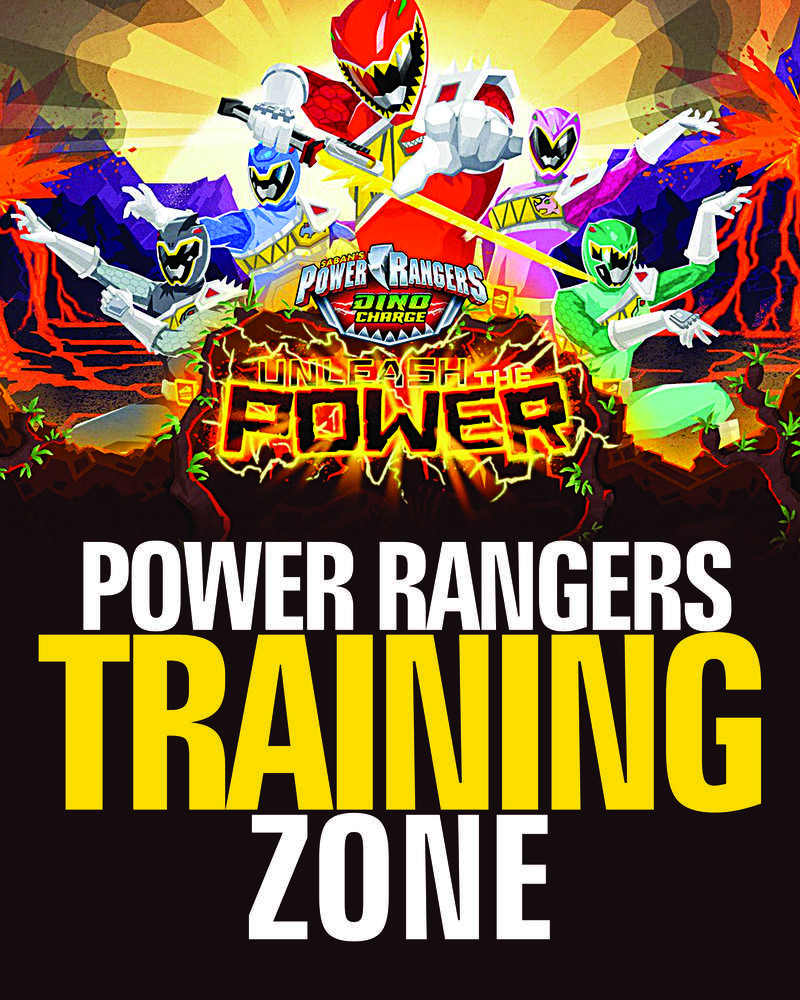 Power Ranger Invitations Template