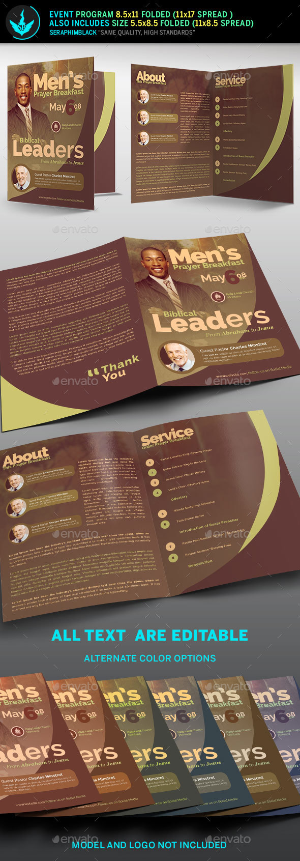 Prayer Breakfast Flyer Template