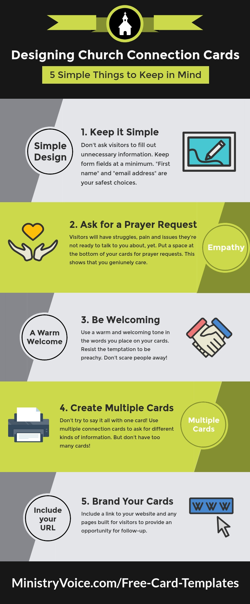 Prayer Request Card Template